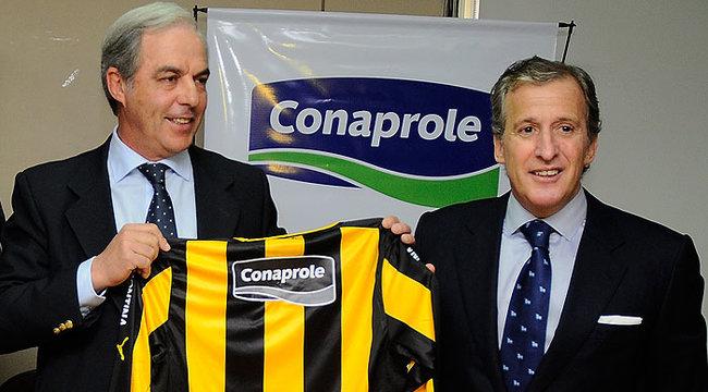 imagen de Conaprole junto a Peñarol