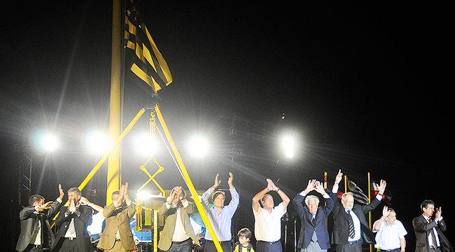 imagen de Peñarol colocó la Piedra Fundacional de su nuevo Estadio