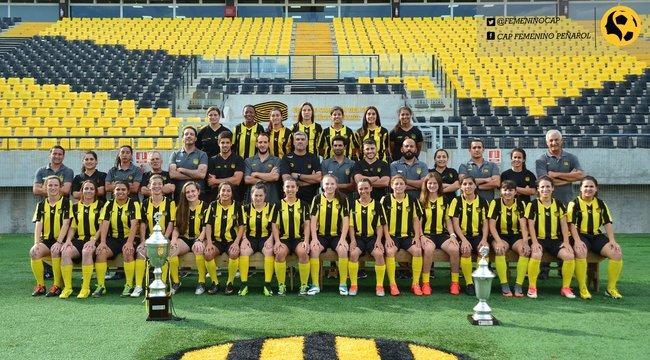imagen de Peñarol tuvo un año histórico en Fútbol Femenino