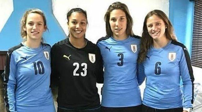 imagen de Cuatro aurnegras para disputar el Sudamericano Sub 20