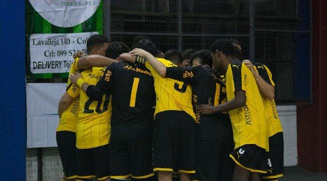 imagen de Peñarol Campeón del Torneo Apertura Sub 20 de Fútbol Sala