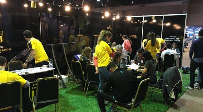 imagen de ¡Peñarol volvió a decir presente en la Expo Fútbol!
