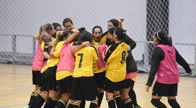 imagen de #FútbolSala | El equipo femenino de Peñarol continúa a paso triunfal