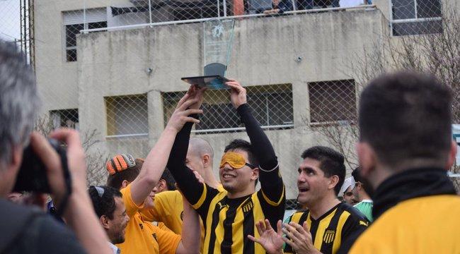 imagen de #FútbolParaCiegos | Peñarol Campeón en Colonia.