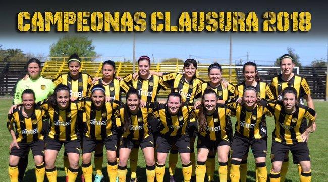imagen de Fútbol Femenino | ¡Peñarol Campeón del Clausura y ganador de la Tabla Anual!