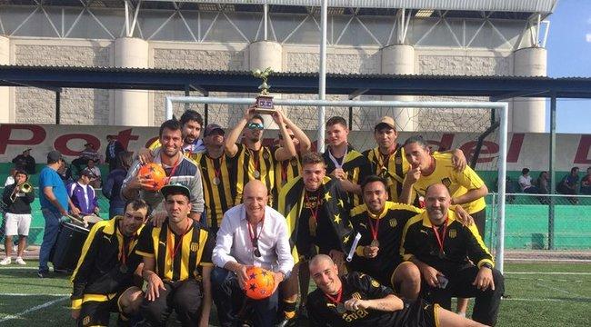 imagen de Peñarol fue medalla de bronce en la Copa Libertadores de Fútbol para Ciegos