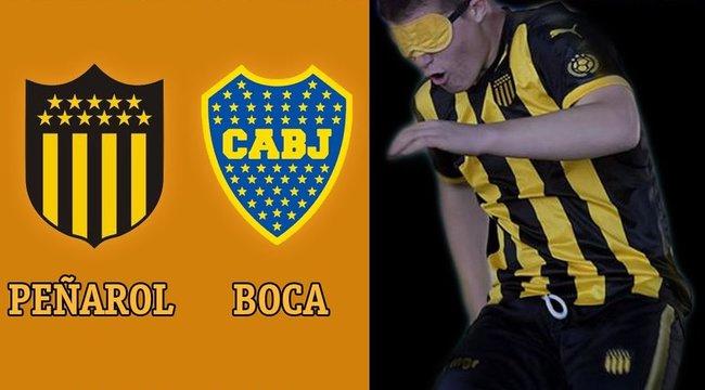 imagen de El equipo de Fútbol para ciegos de Peñarol visita a Boca Juniors