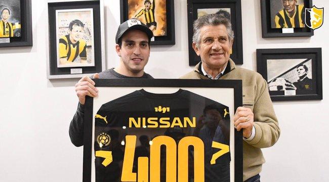 imagen de Nicolás Ordoqui: 400 goles con la camiseta de Peñarol