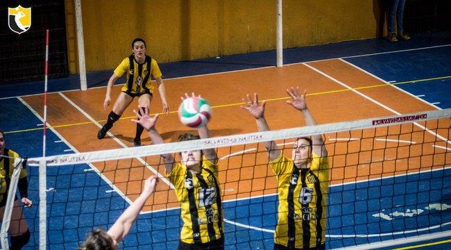 imagen de Volley | Victoria aurinegra en Nueva Palmira.