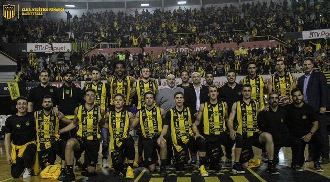 imagen de ¡Peñarol ascendió a la Liga Uruguaya de Básquetbol!