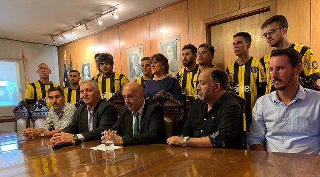 imagen de El fútbol para sordos llegó a Peñarol