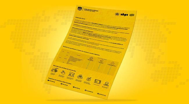 imagen de Atención al socio e hincha a través de nuestros canales digitales