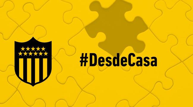 imagen de ¡Divertite #DesdeCasa con Peñarol!