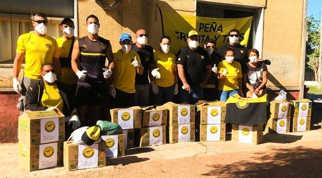imagen de Las Peñas trabajan para luchar contra el coronavirus