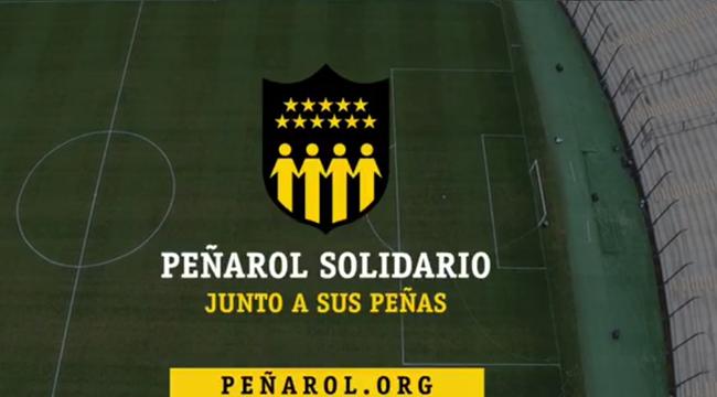 imagen de Peñarol Solidario, junto a sus Peñas