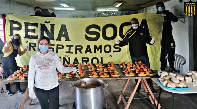 imagen de ¡Ollas populares realizadas por las Peñas!