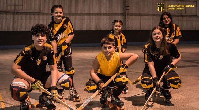 imagen de Escuelita de Hockey sobre patines de Peñarol