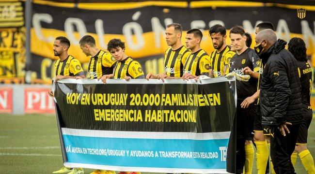 imagen de Peñarol, una vez más junto a TECHO