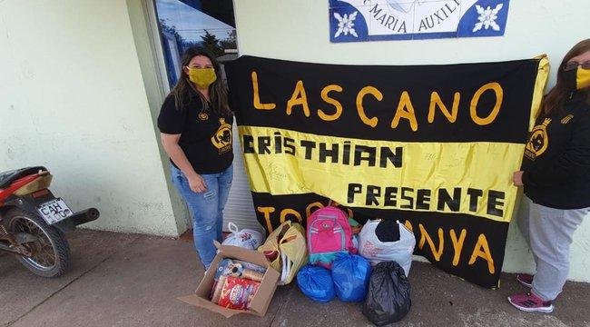 imagen de ¡La Peña de Lascano continúa realizando movidas solidarias!