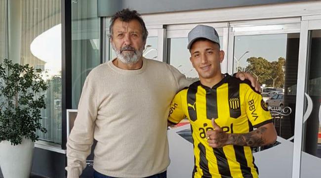 imagen de Cristian Olivera llegó a Peñarol