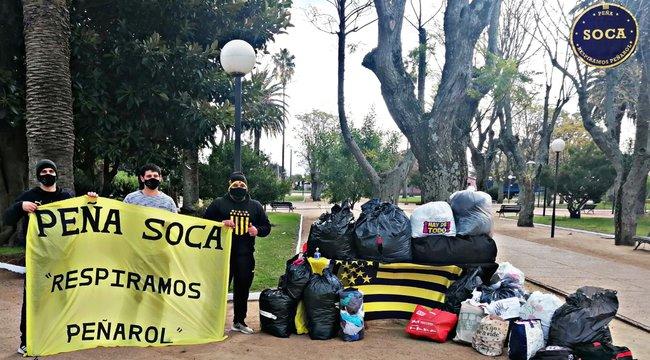 """imagen de Las Peñas volvieron a impulsar la campaña """"Invierno Solidario"""""""