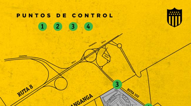 imagen de Importante: Puntos de control en los accesos al Campeón del Siglo